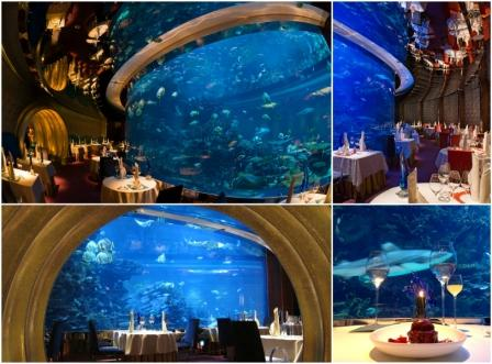 underwater restaurant al mahara - Underwater World Restaurant