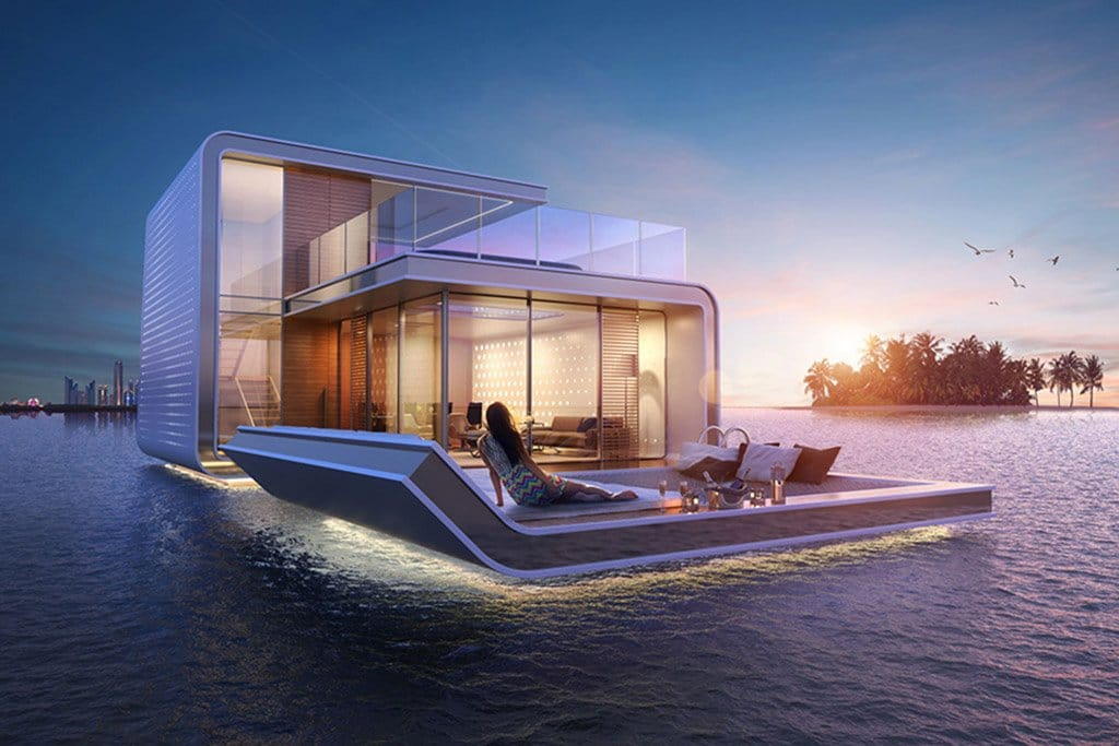 Floating Underwater Houses